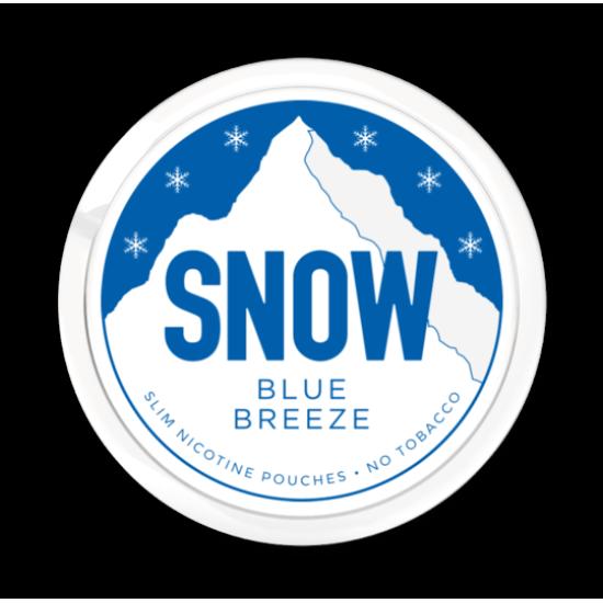 Buy Snow Blue Breeze Nicotine Pouches